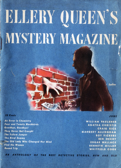 Ellery Queen Mystery Magazine, June 1946